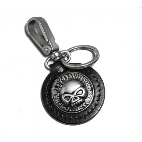 Skull Key Fob Harley Davidson