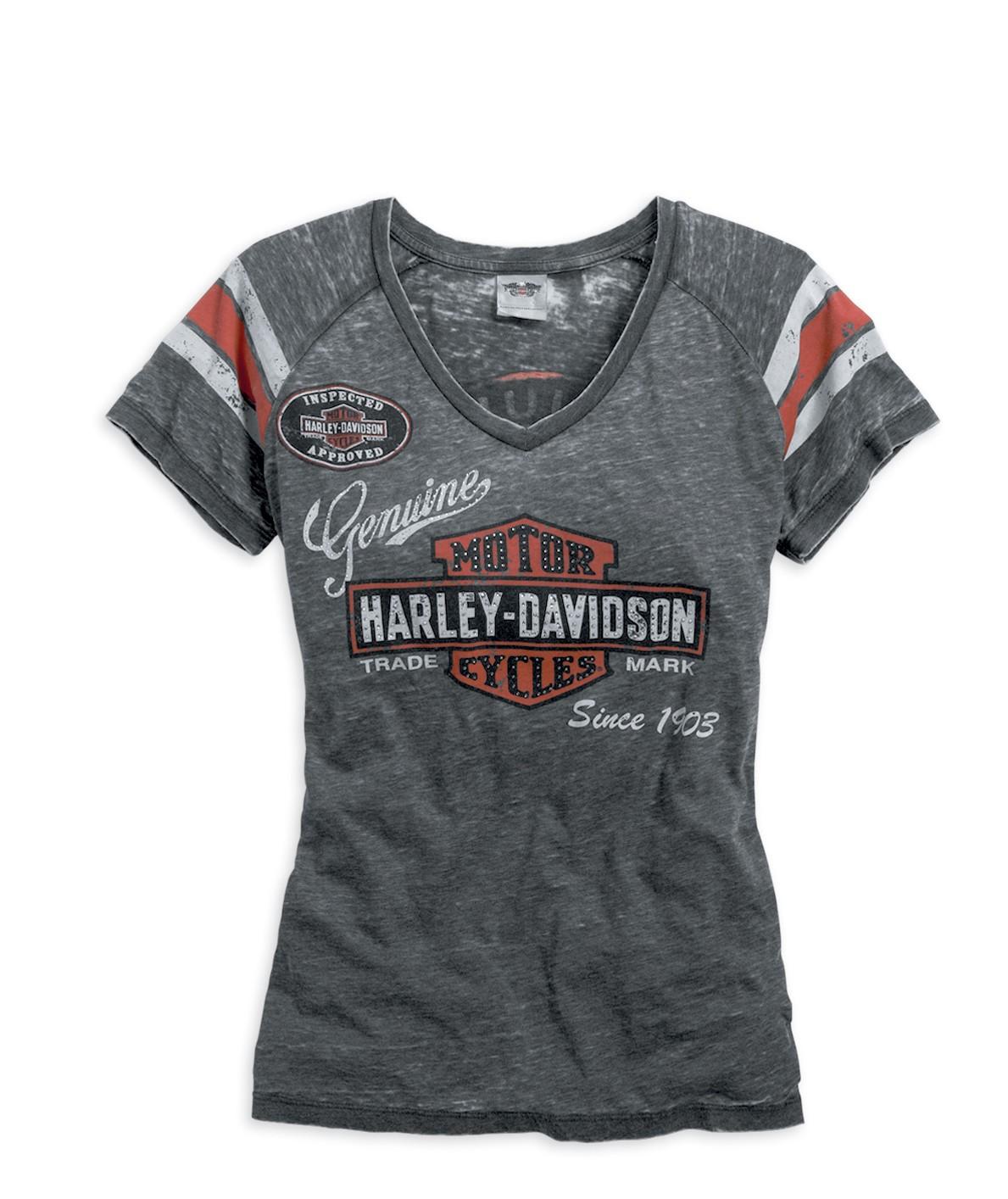 7a5e1dfb7d28 T-shirts Harley Davidson femme - Harley Davidson Le Mans