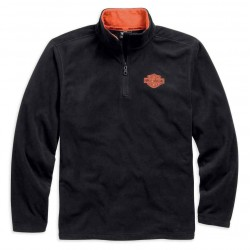 1/4-Zip Logo Fleece