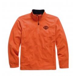 1/4-Zip Logo Fleece
