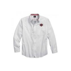 Pinstripe Flames Woven Shirt