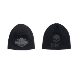 Reversible Logo Knit Hat