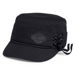 Casquette Laced Side Flat Top