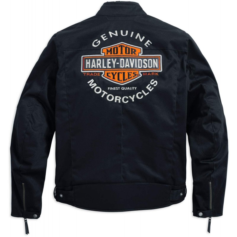 harley davidson rally textile riding jacket 98163 17em. Black Bedroom Furniture Sets. Home Design Ideas