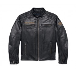 Blouson cuir Eagle 115th Anniversary