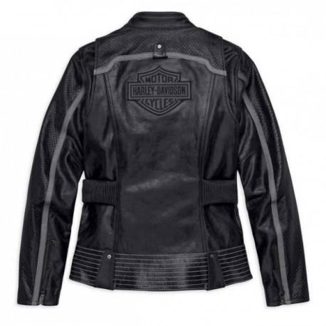 Blouson 98029 Harley hd 18vw Homme Cuir Davidson FrZqxXFavw