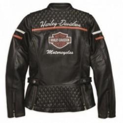 Blouson cuir femme Harley davidson _ 98030-18ew