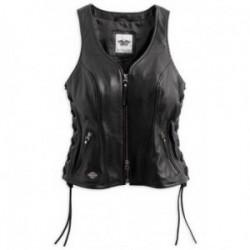 Veste cuir femme Harley davidson _ 98071-14vw