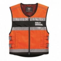 Gilet orange Harley Davidson _ 98157-18em