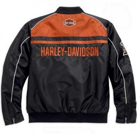 15vm Harley Blouson Davidson 98553 hd Textile Homme w7nZxUF8