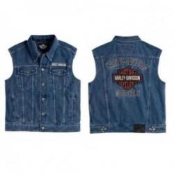 Blouson jean sans manche Harley Davidson _ 99041-08vm