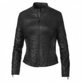 Blouson Harley Femme wing back coated jacket