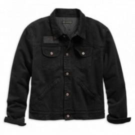 Veste Harley Overdyed Slim Fit Denim Jacket