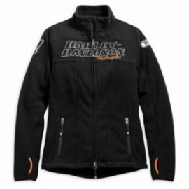 H-D® Racing Fleece Jacket Blouson Harley pour femme