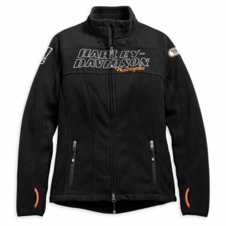 D® H Racing Fleece Blouson Jacket Pour Femme Harley RRrqxdnwH