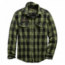 chemise Homme Harley Buffalo Plaid Slim Fit Shirt