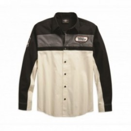 Chemise Homme Harley Davidson H-D® Racing Long Sleeve Shirt