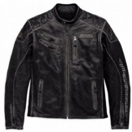Blouson cuir Harley Screamin' Eagle Leather Jacket