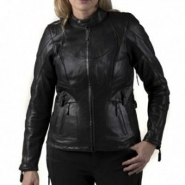 Blouson cuir Femme Harley FXRG® TRIPLE VENT SYSTEM™ Waterproof Leather Jacket