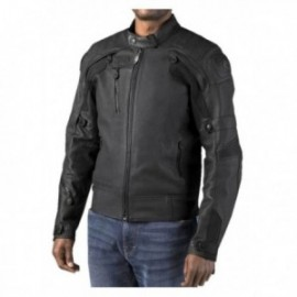 Blouson cuir Homme Harley FXRG® Gratify Slim Fit Leather Jacket with Coolcore Technology