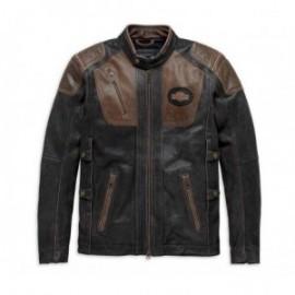 Blouson cuir Homme Harley Davidson ® TRIPLE VENT SYSTEM™