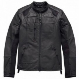 Blouson cuir Homme Harley Davidson ® FXRG® Perforated Slim Fit Leather Jacket
