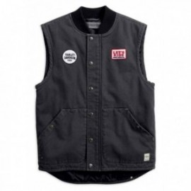 Gilet Homme Harley Quilted Slim Fit Workwear Vest