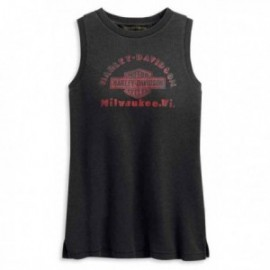débardeur femme Harley Classic Graphic Muscle Tee