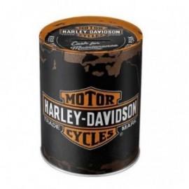 Petite boite métal Harley Davidson 23x16x7cm