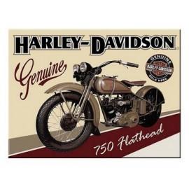 Magnet Harley Davidson 750 Flathead 6x8cm