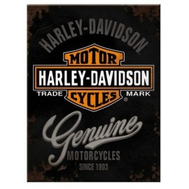 Magnet Harley Davidson Genuine 6x8cm