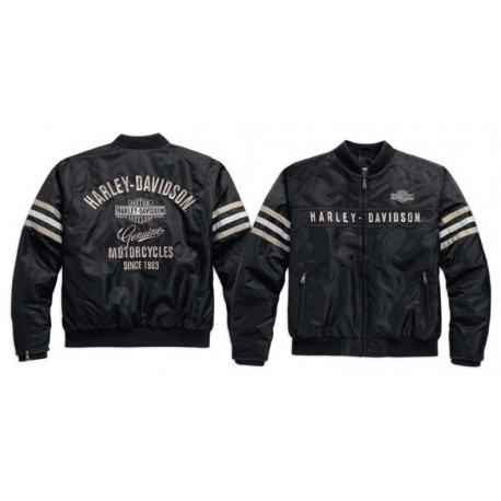 Heritage Nylon Bomber Jacket