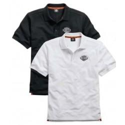 Short Sleeve Knit Polo Shirt