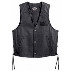 Tradition Leather Vest Harley Davidson