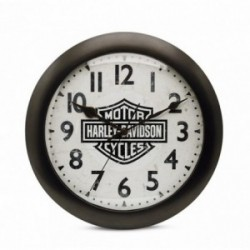 Bar & Shield Logo Silent Clock