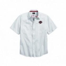 Pinstripe Flames Shirt