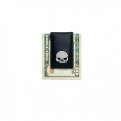 Skull Medallion Money Clip