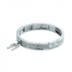 Downswept Wing Stretch Bracelet