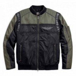 Mainstreet Nylon Bomber Jacket