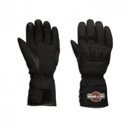 harley davidson legend soft shell gauntlet gloves 98366 17em. Black Bedroom Furniture Sets. Home Design Ideas