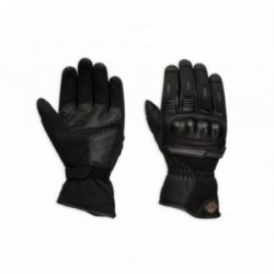 Gants cuir Bar & Shield Logo Mesh