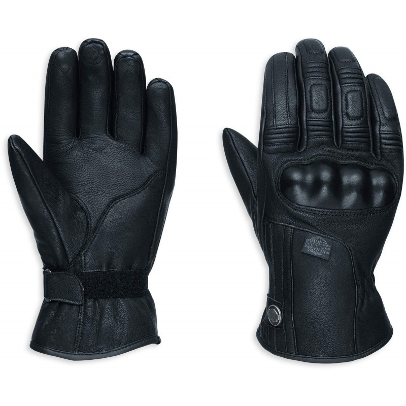harley davidson commuter leather gloves 98372 17ew. Black Bedroom Furniture Sets. Home Design Ideas