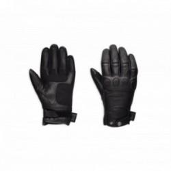 Skull Leather Gloves