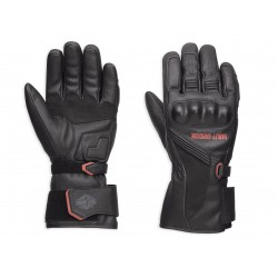 Messenger Leather Gauntlet Gloves