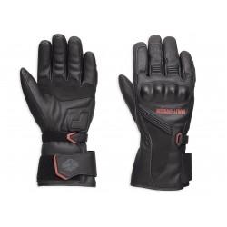 Messenger Leather Gauntlet Gloves