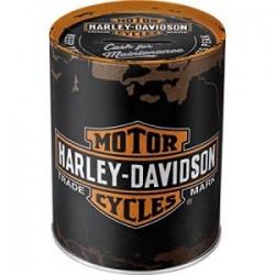 TIRELIRE METAL HARLEY DAVIDSON